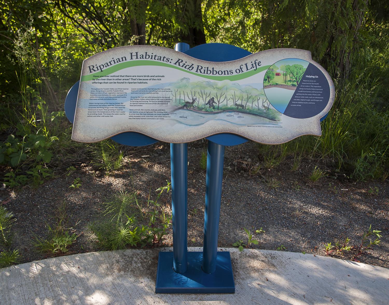 River Ridge - Exhibit Panel 3