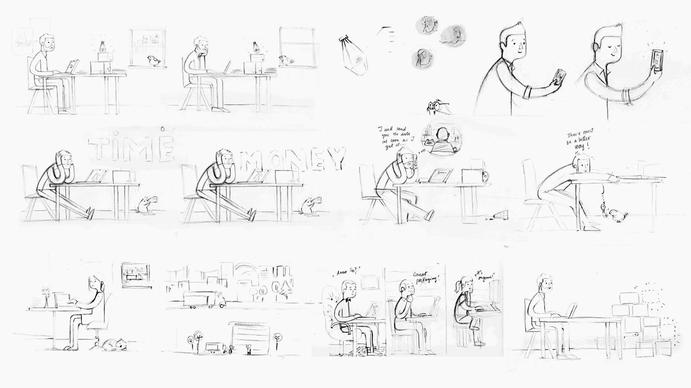 IX-ONE - Concept Sketches