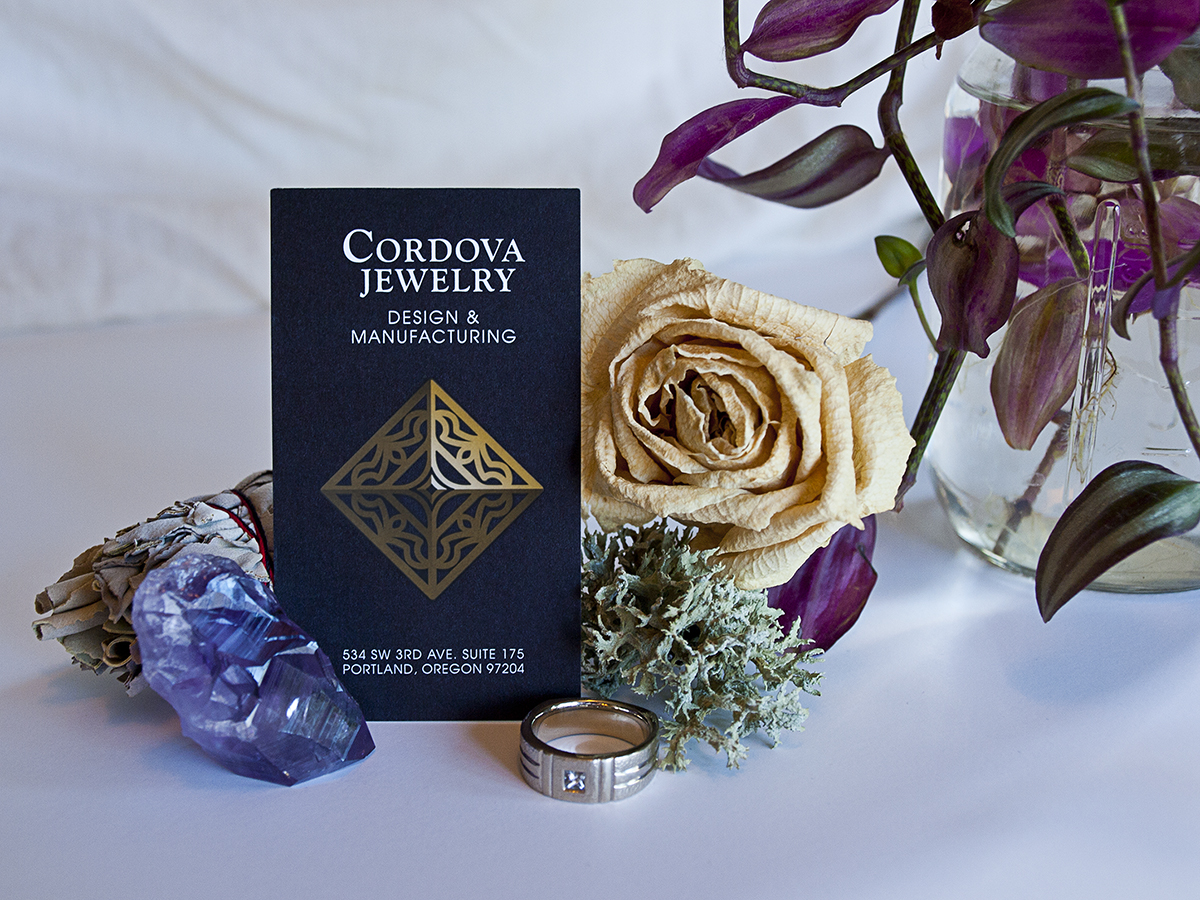 Cordova Jewelry Design and Manufacturing - Business Card Front