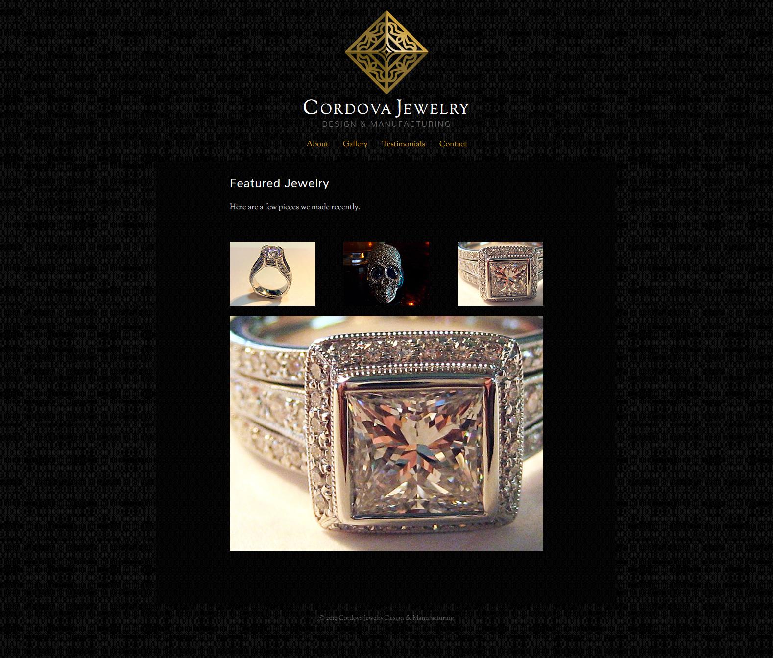 Cordova Jewelry - Home Page