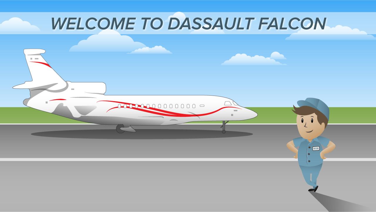 Dassault Falcon - Slide 1
