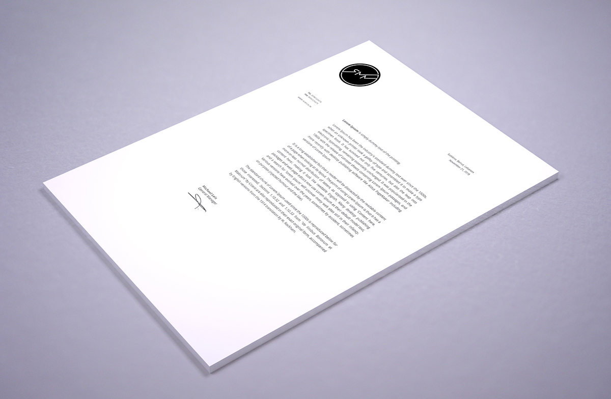 Renegade Music Management - Letterhead
