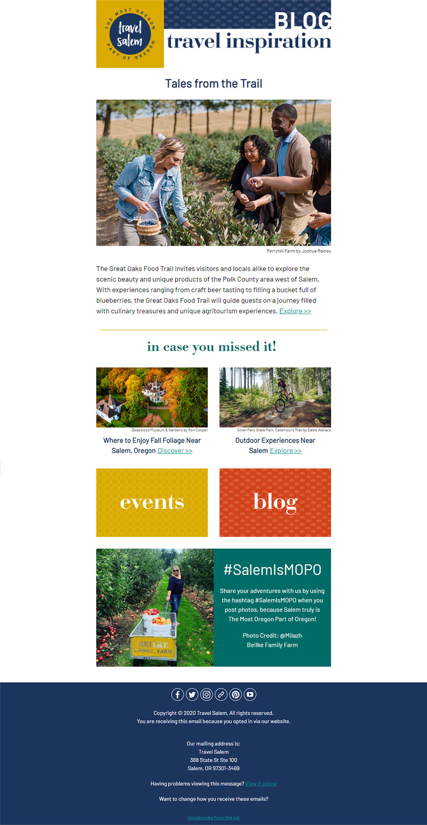 Travel Salem Blog Oct 2020
