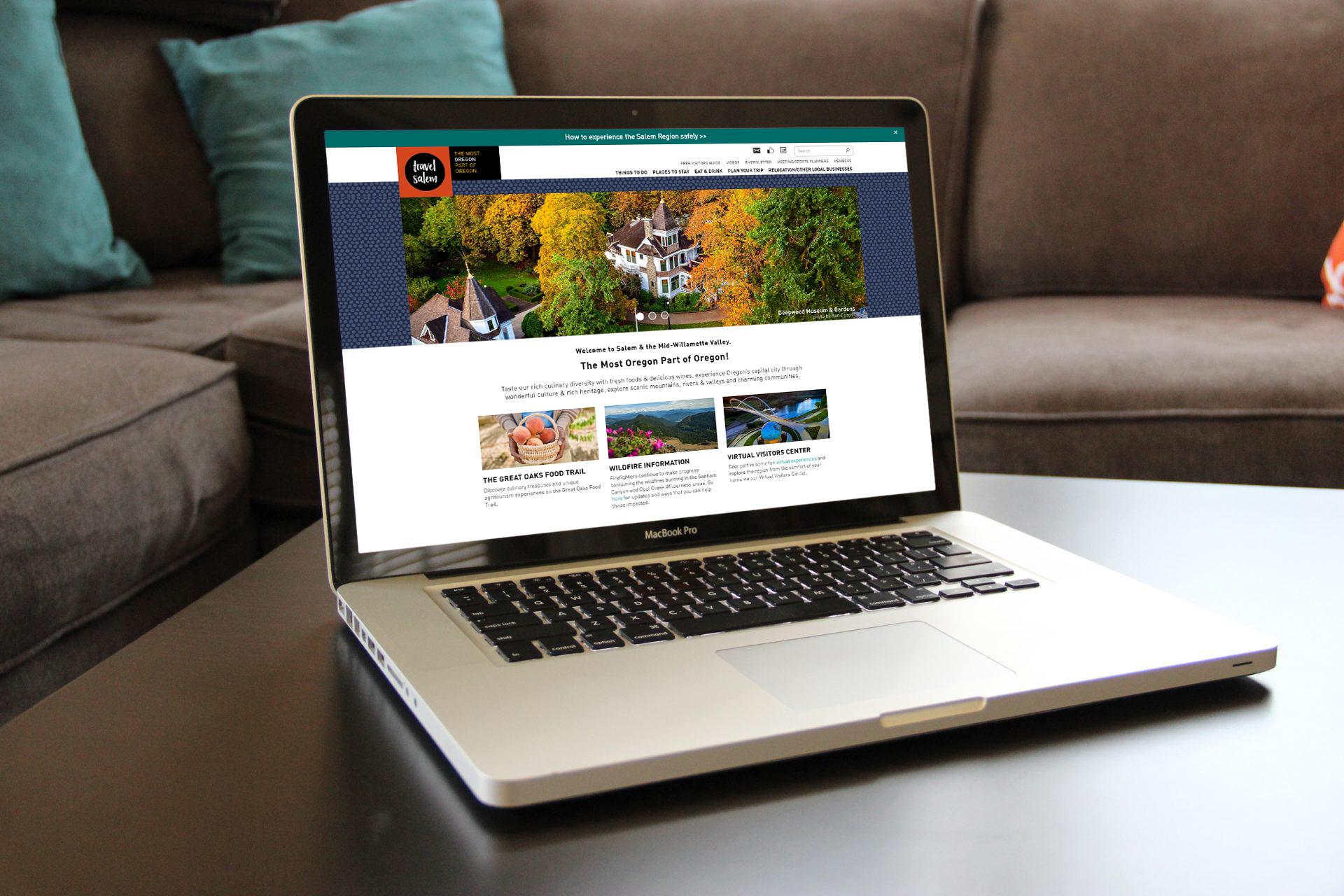 Travel Salem Homepage